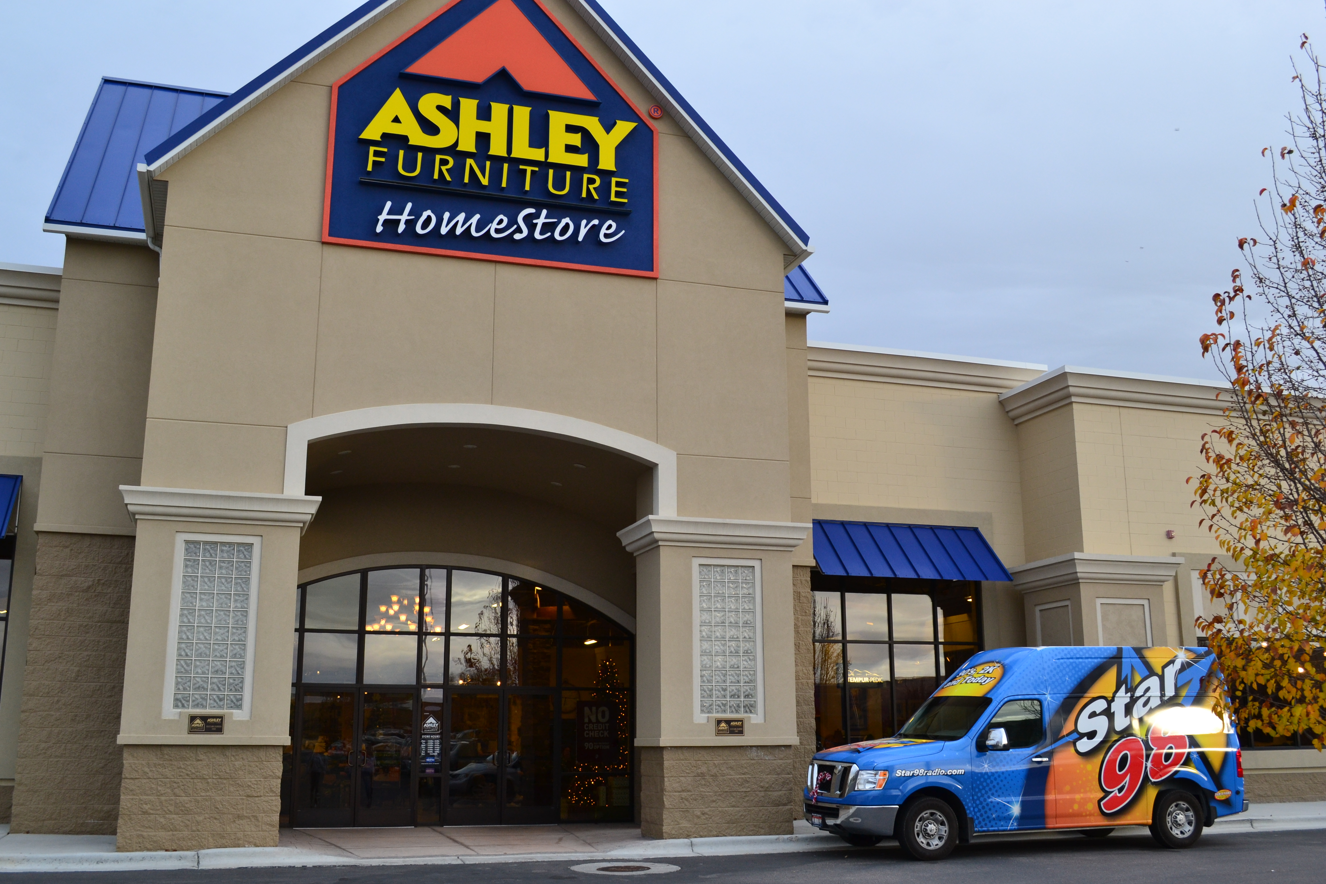 Ashley Furniture Food Drive And Shopping Spree Winner