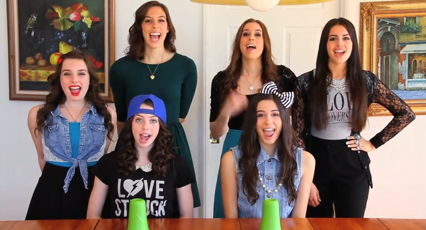 Cups cover from Cimorelli! Anna Kendrick