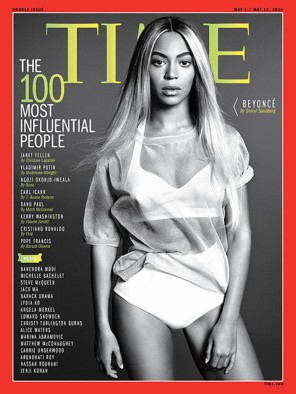 Beyonce Time Magazines Most Influential Person