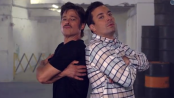 """Breakdance Conversation"" with Jimmy Fallon & Brad Pitt"