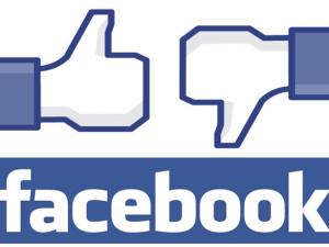 Facebook thumbs up thumbs down like or dislike