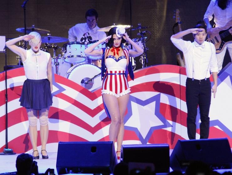 Katy Perry Flag Dress