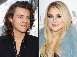Harry Styles and Meghan Trainor