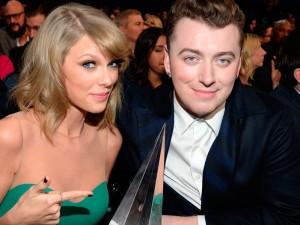 Taylor Swift and Sam Smith Billboard Music Awards