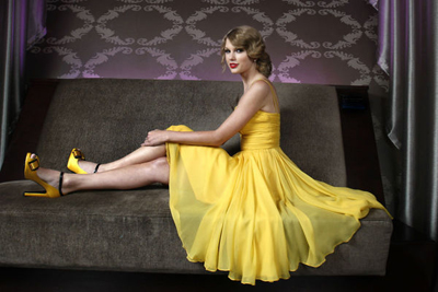 Taylor Swift Yellow Dress