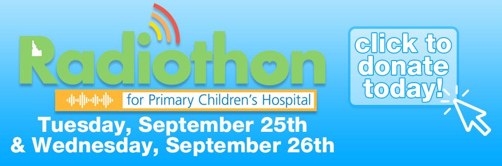 2018 Primary Children's Radiothon