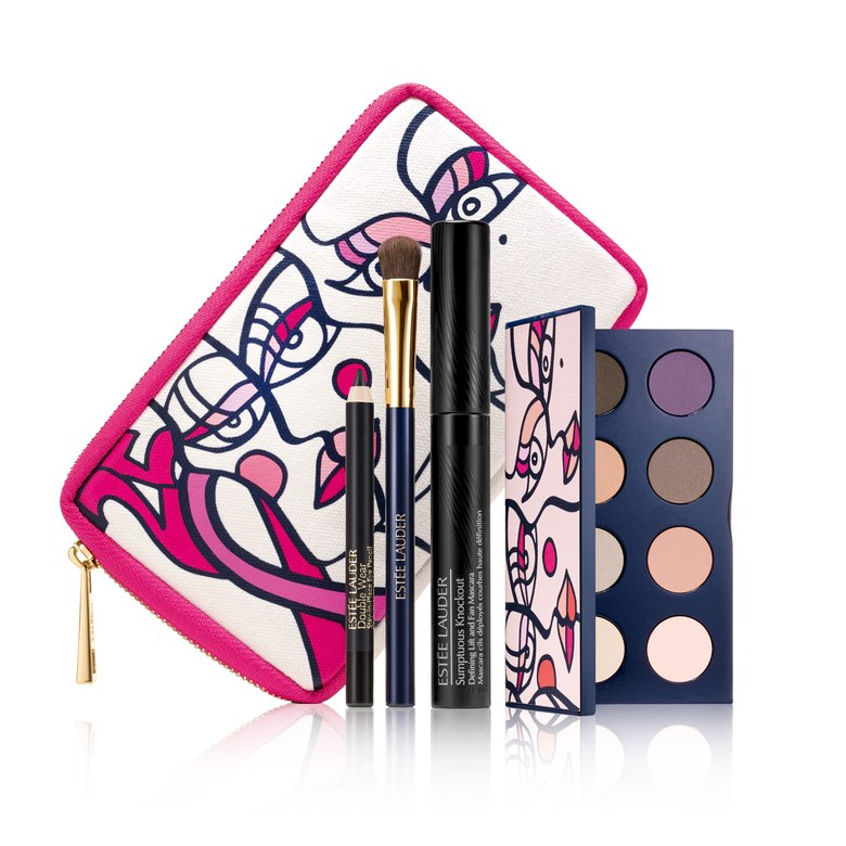 Estee Lauder Breast Cancer Makeup Set