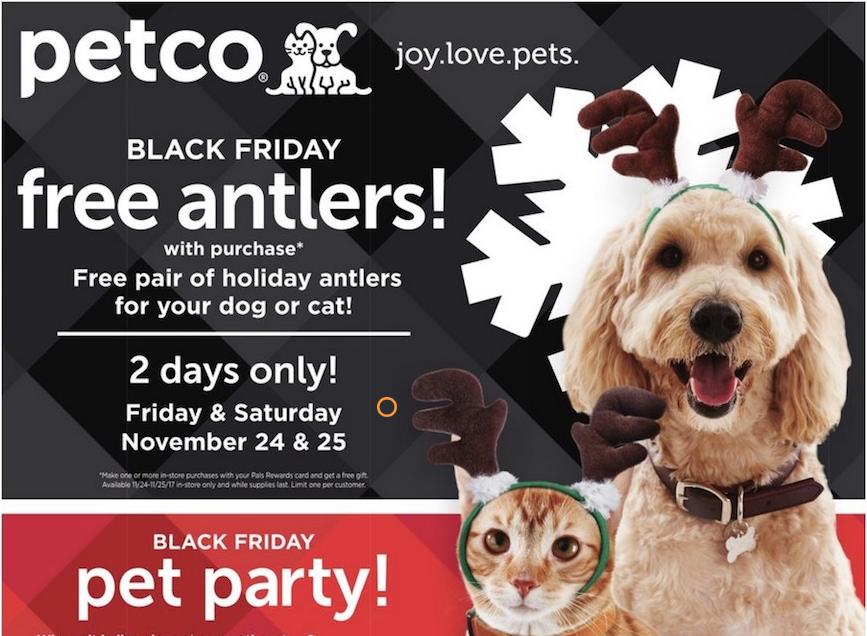 Black Friday Shopping at Petco