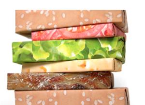 Hamburger Gift Wrapping Paper