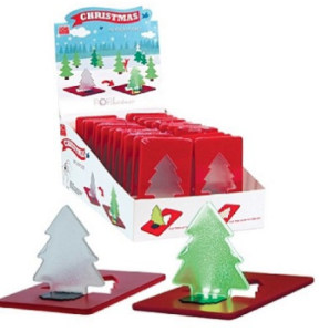 Pocket size christmas tree