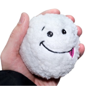 plush toy screaming snowball